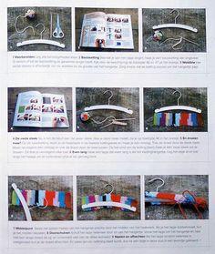 Crochet Hanger Tutorial ✿Teresa Restegui http://www.pinterest.com/teretegui/✿