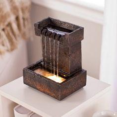 Mirada Table Top Fountain