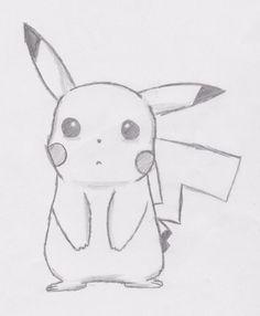 Pikachu (sad) à partir de - # # à partir de - Zeichnungen traurig - Disney Drawings Sketches, Sad Drawings, Cute Sketches, Girl Drawing Sketches, Cute Easy Drawings, Art Drawings Sketches Simple, Kawaii Drawings, Cartoon Drawings, Animal Drawings