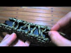 How To Make A Paracord Multitool Pouch - YouTube