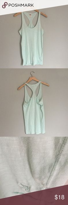 PINK Racerback tank top EUC; like new! Perfect for lounging or for working out. Reasonable offers will always be considered. Thanks for checking out my listings! PINK Victoria's Secret Tops Tank Tops