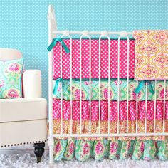 @rosenberryrooms is offering $20 OFF your purchase! Share the news and save!  Lily Pad Crib Bedding Set #rosenberryrooms
