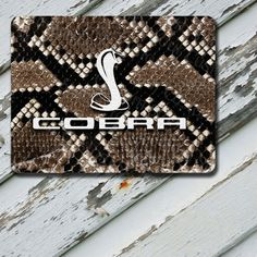 Mousepad Ford Cobra Snake Skin Design on by EastCoastDyeSub