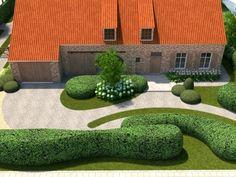 Project C Kalford (Puurs) - Verde Tuinarchitectuur - Projecten op maat
