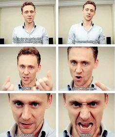 Tom Hiddleston- - OMG this is AMAZING