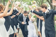 grand entrance  Photos by Taylor Rae Photography