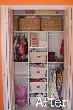 ideas for LL's closet