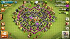 clash of clans level 7 war base - Google Search