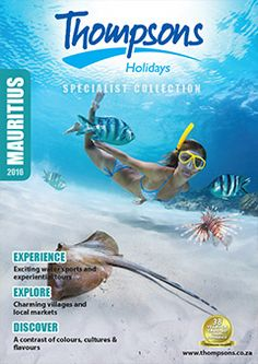 Thompsons Holidays is your destination specialist. Check out our brochures! Top Destinations, Mauritius, Brochures, Africa, Explore, Holiday, Movie Posters, Animals, Collection