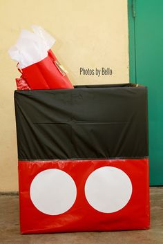 Mickey Mouse Birthday Party | Mickey Mouse Gift Box