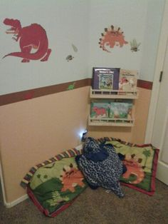 Kids Reading Corner- utilize unused space