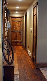 Pallet Door And Floor