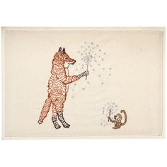 sparklers embroidered card by Coral & Tusk-I love this woman's work....a littly pricey for the shop but....so fun!
