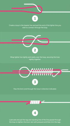Albright knot Jewelry Knots, Bracelet Knots, Bracelet Crafts, Diy Friendship Bracelets Patterns, Diy Bracelets Easy, Rope Knots, Macrame Knots, Survival Knots, Survival Skills