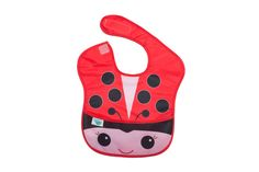 Lucy the Ladybug Waterproof Bib Waterproof Bibs, Ladybug, Slippers, Shoes, Blinds, Zapatos, Shoes Outlet, Slipper, Shoe