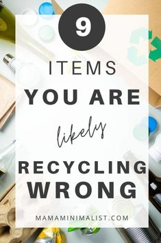 You've likely heard it's important to recycle, reduce, and reuse, yet —still!—you may be recycling wrong. Inside: 9 items you're likely mishandling. Yogurt In Glass Jar, Waste Reduction, Herbal Magic, Plastic Pollution, Organic Living, Eco Friendly House, Sustainable Living, Zero Waste, Frugal