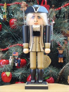 Milford George Washington Nutcracker - We have one of these nutcrackers and they are beautiful! Very different than the German nutcrackers.