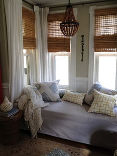 Simple blinds from Loft & Cottage.