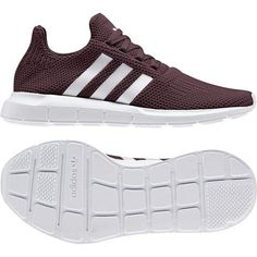 low priced cd838 7a4bc adidas Originals Women  s Swift Running Shoe, Maroon Grey White, 8 M US  Apparel Accessories Shoes Athletic Shoes Sneakers