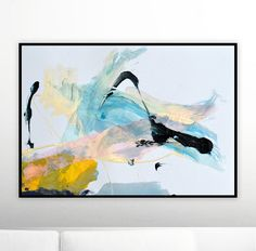 Printable Abstract Art Pink and yellow Printable Abstract Yellow Wall Art, Abstract Wall Art, Abstract Paintings, Landscape Art, Fine Art Paper, New Art, Modern Art, Original Art, Art Prints