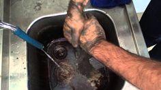 Granüllü el temizleme kremi Yağ sökücü