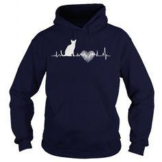 Egyptian Mau Heartbeat T-Shirts & Hoodies Check more at https://teemom.com/pets/egyptian-mau-heartbeat.html