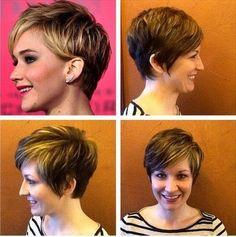 2015 de moda corte de pelo corto para la Mujer - Nueva Peinado