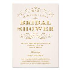 CLASSY SHOWER | BRIDAL SHOWER INVITATION