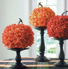 Shop for quality fall decorations like hay bales, fall wreaths, garlands, and more. Grandin Road Halloween Haven offers a great selection of autumn decorations. Halloween Mantel, Fall Halloween, Halloween Flowers, Halloween House, Harvest Decorations, Thanksgiving Decorations, Indoor Halloween Decorations, Halloween Displays, Fall Mantel Decorations