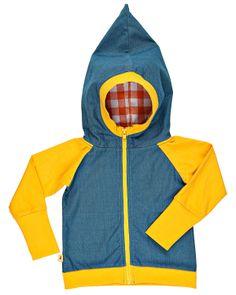 Albababy sweatshirt   Quality: 72% cotton, 22% polyester, 6% elastane   Model: Chris zipper hood, 1412152/53