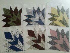 Cleopatra's Fan quilt blocks