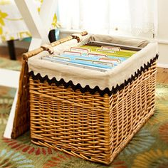 Storage Solutions Using Baskets