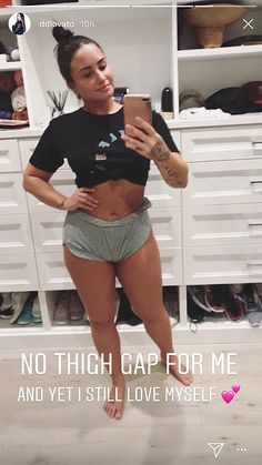 Demi Lovato Proudly Shares Photos of Her Stretch Marks and Cellulite - Body Positivity -