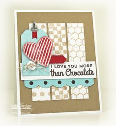 Debbie Carriere, Scrappin' My Heart Out: Crazy for Chocolate...MFT New Product Tour