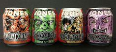 Halloween 2013 Jones Soda cans