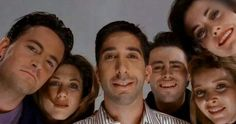 The whole cast of Friends
