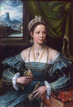 Portrait d'une femme, vers 1550 Peter de Kempeneer (ditPieter de Kempeneer ou plus courammentPedro de Campaña)