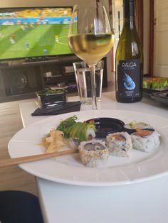Sushi er favoritten