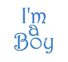 I'm a Boy