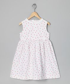 Take a look at this Love, Auntie Pink Strawberry Party Time! Dress - Toddler & Girls by Bulldogs and Bows & Love, Auntie on #zulily today!