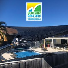 You can relax when you have a shade sail installed by Superior Shade Sails👍This beautiful pool at Newport is now covered by the high quality dependable Rainbow shade fabric.  We do shade sails for pools, driveways, carports, patios, even shade sails for your 4 legged friend.😉 Great range of colours to choose from.  For a FREE Quote & Measure call us on 📞1300MYSHADESAILS or 0429 220 298.  📧 sales@superiorshadesails.com.au  #superiorshadesails poolshadesails #patioshadesails…