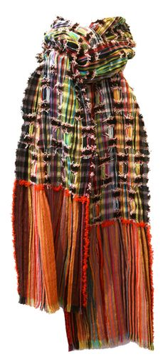 """New Wool Crepe Ribbon — """"Rudston"""" Scarves — wallace#sewell"""