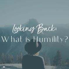 Though it's uncomfortable and goes against our human nature, humility is a beautiful way of life. #humility #bible #christian What Is Humility, Humility Bible, Human Nature, Way Of Life, Looking Back, Journey, Christian, Thoughts, Learning