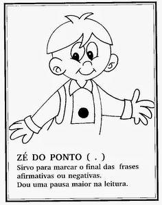 Sinais De Pontuação Para Crianças Portuguese, Illustration, Homeschool, Snoopy, Education, My Favorite Things, Fictional Characters, Celebrities, Punctuation Activities