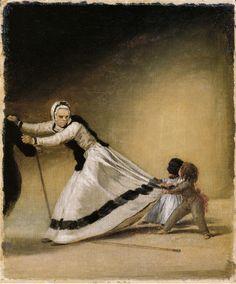 Francisco Goya - 'La Beata' with Luis de Berganza and Maria de la Luz