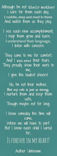 Forever in my heart - author unknown, but I love it! #fostercare love! #StepParenting