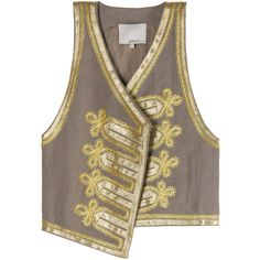 FESTIVE SUMMER VEST by None, via Polyvore