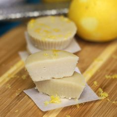 Raw lemon meltaways. These melt-in-your-mouth confections taste decadent, but can be enjoyed guilt-free. 2 WW Points plus each