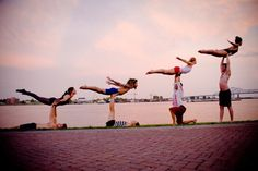 Acro Yoga - Challenge your body to see what it is capable of Acro Yoga Poses, Partner Yoga Poses, Pranayama, Aikido, Yoga Inspiration, Ballet, Types Of Gymnastics, Yoga Posen, Yoga Dance