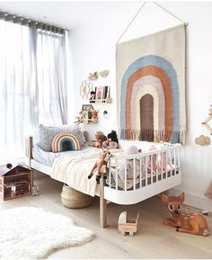 28 Kids Bedroom Interior Design Trends for 2019 , With regards to the children, obviously you as a parent need to give it all the best. For instance, by improving the children room inside with the pre. Girls Bedroom, Single Bedroom, Bedroom Ideas, Bedroom Designs, Modern Kids Bedroom, Childrens Bedroom, Kid Bedrooms, Bedroom Wall, Kids Room Organization